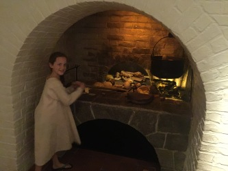 At the National Museum, kids can explore a medieval kitchen...
